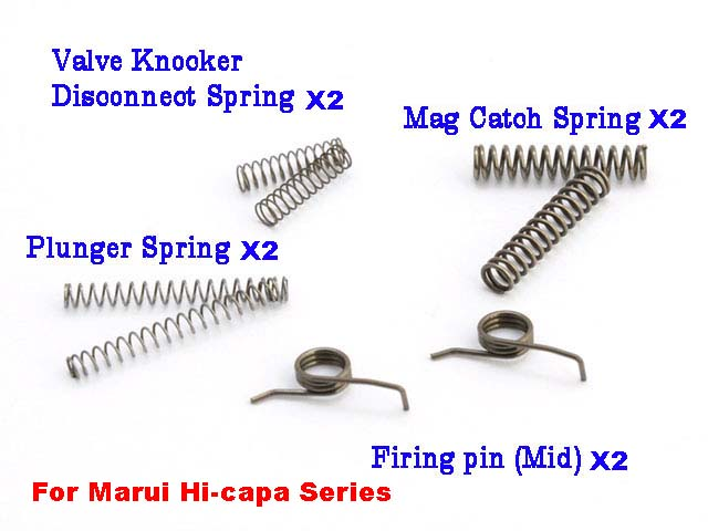 AIP Spare parts of spring for Tokyo Marui Hi-capa Series