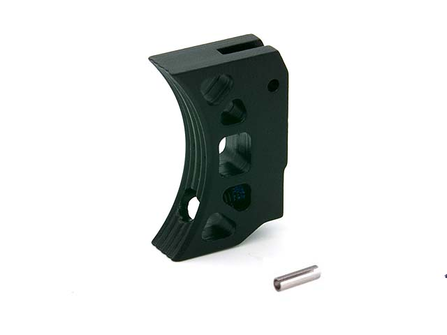 AIP Aluminum Trigger (Type K) for Marui Hi-capa (Black/Short)