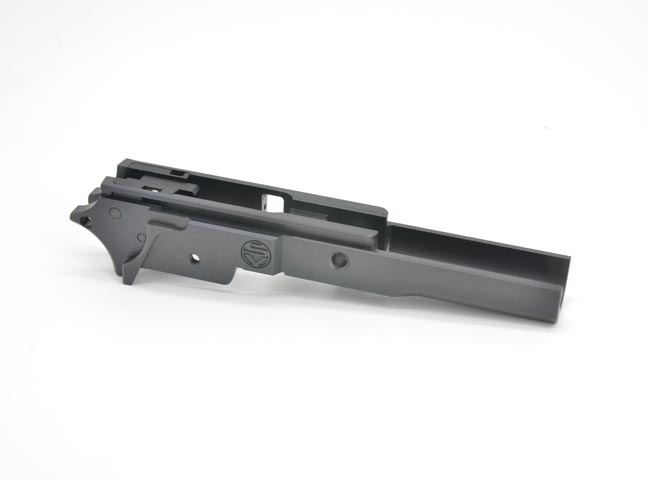 GUNSMITH BROS Aluminum Frame - SV 3.9 for Hi-Capa (Black)